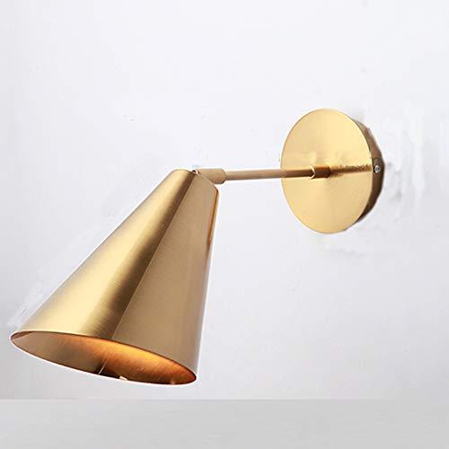 YDZM Wandleuchte Moderne Minimalistische Schlafzimmer Nachttischlampe Led Leseleuchte Gang Treppe Wohnzimmer Wandlampe Badezimmerspiegel Frontlampe Innenbeleuchtun