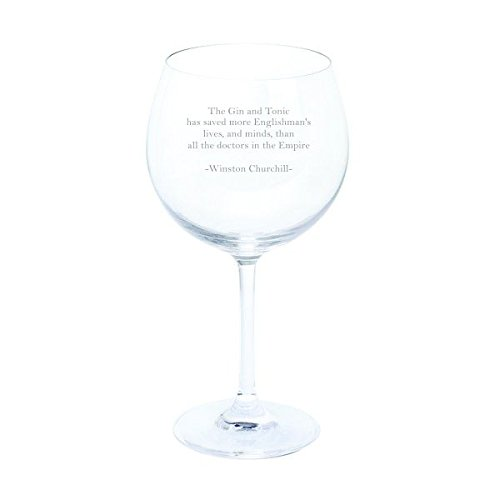 Dartington Winston Churchill Gin und Tonic Zitat Wein & Bar Gin & Tonic Copa Glas