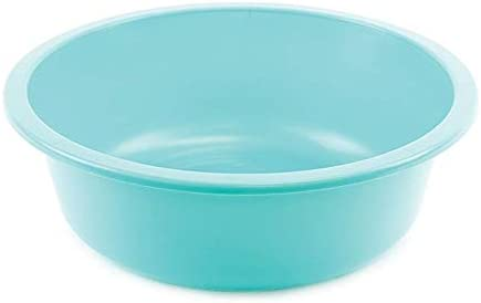 Comfort Cheap sale Axis Round Plastic 2021 autumn and winter new Wash Basin 3 Pack Turquois 6 Quart
