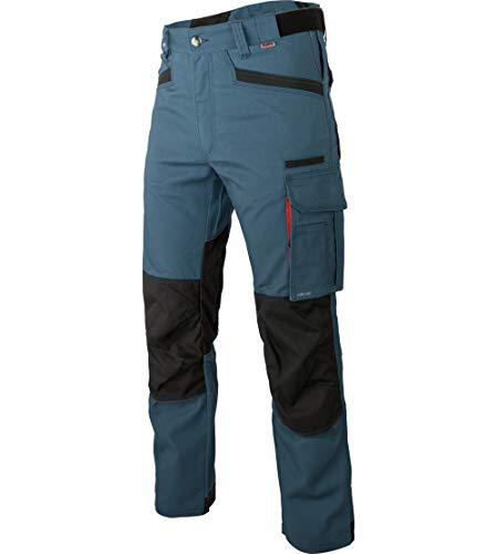WÜRTH MODYF Bundhose Nature schieferblau: Für Sie in der Größe 102 erhältlich. Die Hose ist nach DIN EN 14404 genormt. Die Arbeitshose für alle Handwerker!