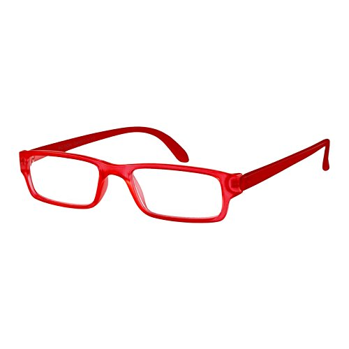 I NEED YOU I NEED YOU Lesebrille Action SPH: 1.00 Farbe: rot-matt, 1 Stück