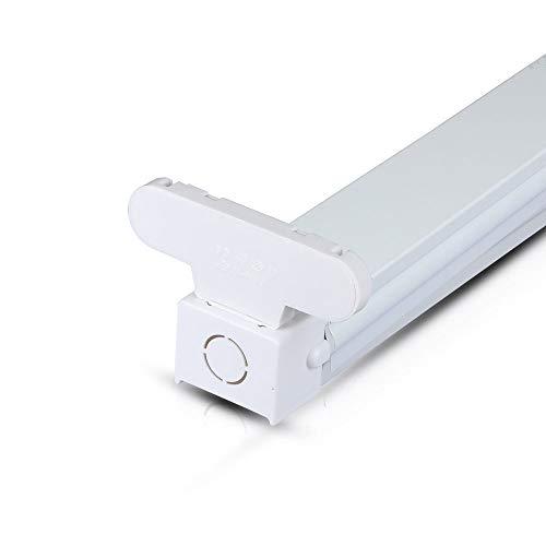 V-TAC 6057 Halter Fassung für 2 Stück LED 150 cm zum Gebrauch mit V-TAC LED Leuchtröhren