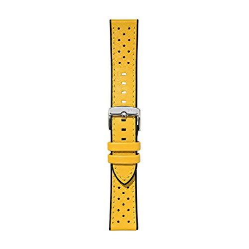 Morellato Correa de Reloj Unisex, Colección Sport Collection, Mod. FLYBOARD, de Cuero auténtico de Becerro y Goma - A01X5121712
