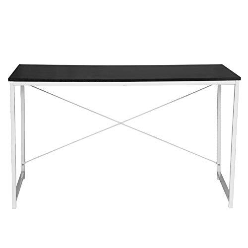 eSituro SCD0058 Schreibtisch PC Tisch Esstisch Couchtisch Bürotisch Arbeitstisch Holz Stahl