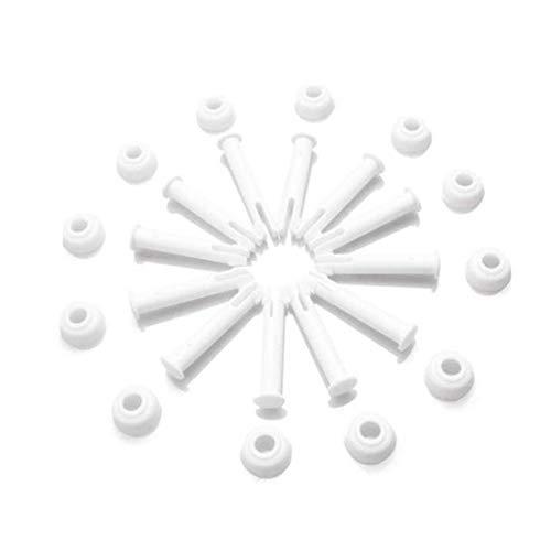 RETYLY Pasadores de Juntas de Piscina de ABS, Sellos de Juego de Tapas para Piezas de Repuesto de Piscina 28270-28273 5,5 Cm 50 Piezas