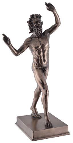Veronese 708-5696 Tanzender römischer Faun 26 cm Figur Skulptur Haus des Faun Statue