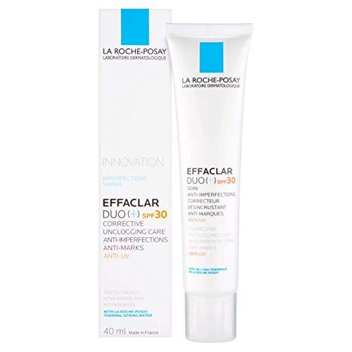 Effaclar duo [+] spf30 soin anti-imperfections, correcteur désincrustant, anti-marques, anti-uv