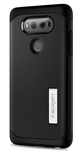 Spigen Tough Armor LG V20 Case with Kickstand and Extreme Heavy Duty Protection and Air Cushion Technology for LG V20 - Black