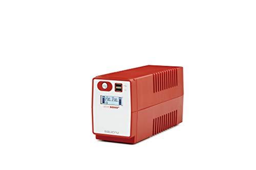 Salicru SPS.850.Soho+ - Sistema de Alimentación Ininterrumpida, Color Rojo, 850 VA