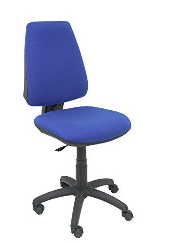 PIQUERAS Y CRESPO 14Cp–Sedia da ufficio ergonomica con meccanismo permanente, tessuto Bali blu