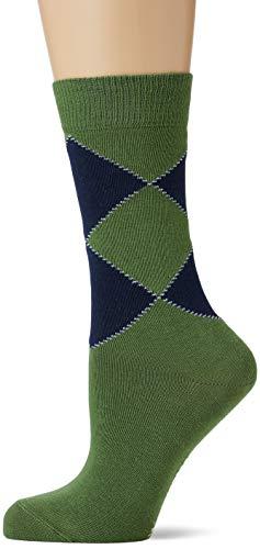 Burlington Damen Organic Socken, grün (Pesto 7165), Einheitsgröße (DE 36-41)