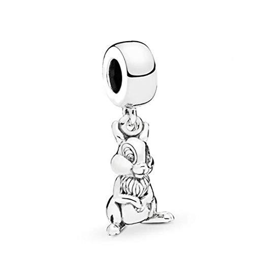 Thumper Sterling Silver Fits European Bracelets Compatible ByDisney Thumper Enamel Sterling Fits Pandora European Bracelets Compatible by Gooce Practical Home Gifts