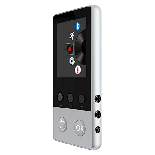 BangHaa Voice Recorder professionelle Digitale Diktiergerät Stift Long Distance Audioaufzeichnung mit Zeitstempel Beruf HD Noise Reduction Audio Tragbare Mini-Tape Dictaphone mit MP3 ( Color : Weiß )