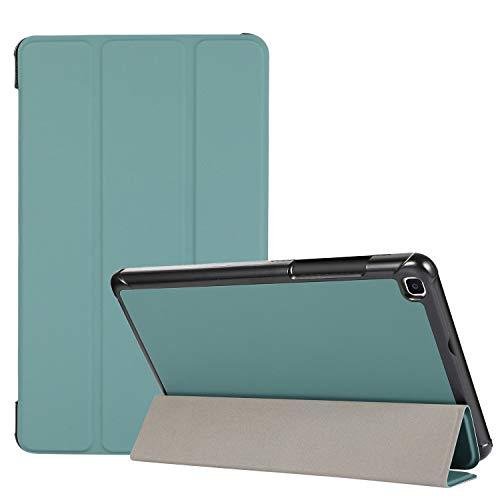 YEYOUCAI Tablet Accessories - Funda de piel sintética para Samsung Galaxy Tab A 8.0 T290 y T295 (3 plegables)