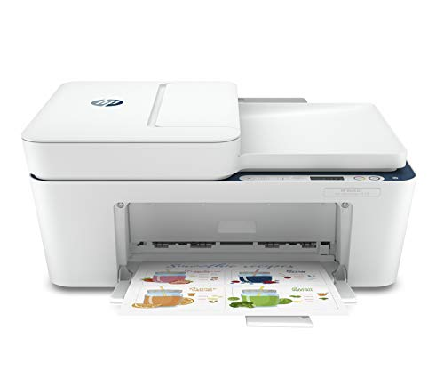 HP Deskjet Ink Efficient 4178 WiFi Colour Printer, Scanner and Copier for Home/Small Office Compact Size, Automatic Document Feeder, Send Mobile fax,Easy Set-up Through HP Smart App on Your Mobile