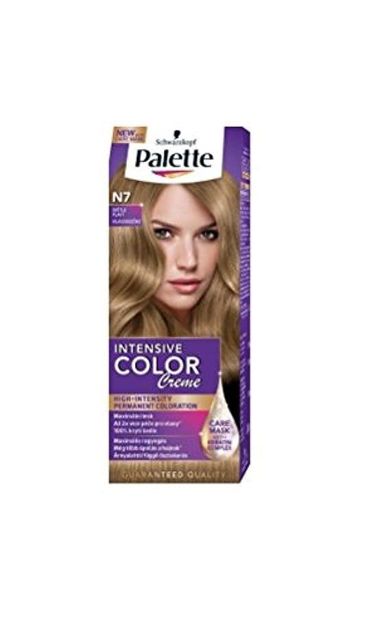 Palette Intensive Color Creme N7 Light Blonde Permanent Hair Color
