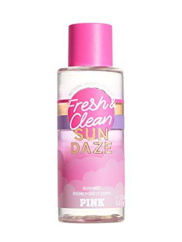 Victoria Secret Pink New! FRESH & CLEAN Sun Daze Scented Mist 250ml