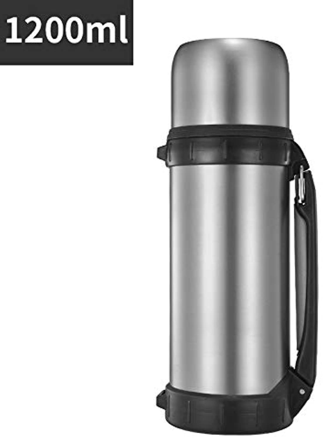 Large Capacity Bottle Stainless Steel Vacuum Insulated Water Bottle Double Wall Sports Drinks Bottle for Hiking Camping Car Travel
