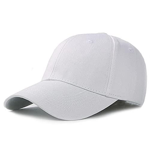YIERJIU Gorra Gorras Beisbol Gorras de béisbol para Hombre de algodón Casquette Femme Sombrero Snapback para Hombre Gorra de Camionero de Hueso Sombreros y Gorras para Hombres,WH
