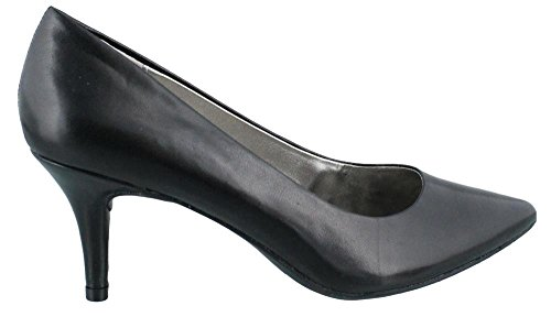 Bandolino Women's Inspire Black Leather Pump 6.5 W