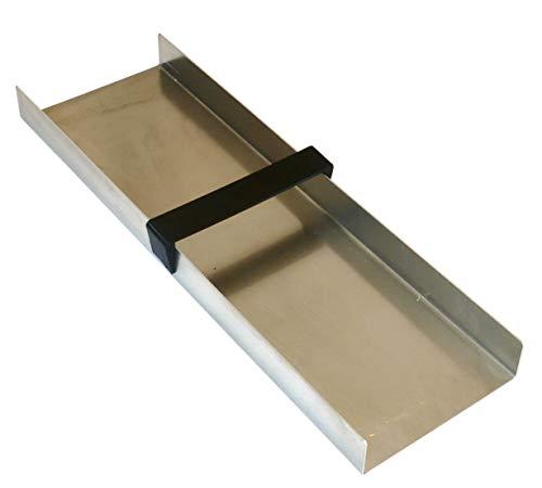 Goldwaschrinne, 50x15cm, mit Griff, Aluminium U-Profil für Goldwäscher