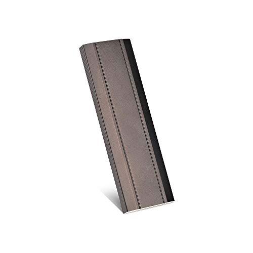 Hard disk esterno portatile sottile HDD esterno USB 3.1 per PC, Mac, Laptop-10 (Nero-1tb)