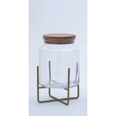 園芸 インテリア ポット スポットライト テラリウム 17 C glass ware(1個)29004s [p177] スタンド12G付き (代引き不可) ガーデン 花・観葉植物用 FARM