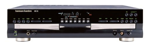 Harman Kardon CDR 30 Dual-Tray CD Recorder (Discontinued by Manufacturer)