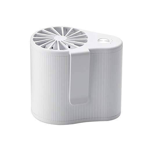 RKY Mini Colgante de la Cintura del Ventilador de Flujo de Aire de Gran Alcance estupendo Juego Portable del Aire Acondicionado de la batería Recargable 3 Configuración de la Velocidad Ventilador /-/
