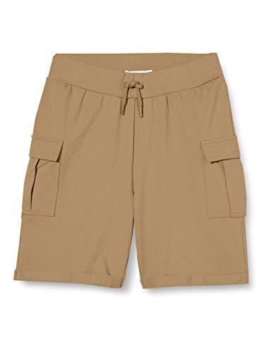 NAME IT Jungen NKMFARGO Sweat Short UNB Bermudas, Kelp, 140