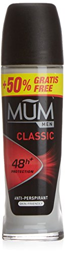 Mum - Men Classic - Desodorante Roll-On, 50 ml