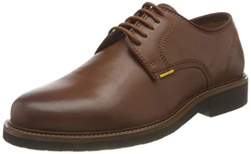camel active Herren Alder Low lace Shoes Oxford, Cognac, 45 EU