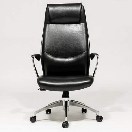 Gaming Chair Computer Home Office Reclining Massage boss Lift Turn Foot Rest seat Chair Aluminum Alloy feet Black -1026I9X1L