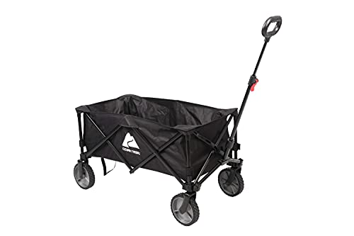 Folding Collapsible Multipurpose Camp Wagon Cart - Beach, Outdoor and Camping