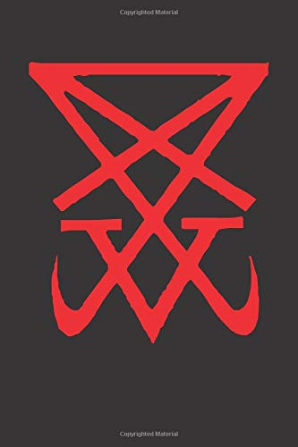 Sigil of Lucifer: Blank Lined Notebook, Journal or Diary