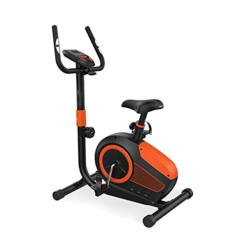 DJDLLZY Bicicleta de Ejercicio Portátil Ajustable Ultra Silencioso Control Magnético Vertical Equipamiento de Fitness Bicicleta para Hacer Deporte en Casa (Tamaño: 73 * 49 * 130 Cm)