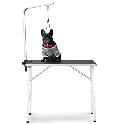 Rhomtree Foldable Pet Grooming Table
