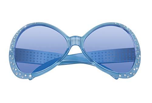 narrenkiste B025548 - Gafas de sol para mujer, diseño hippie, color verde