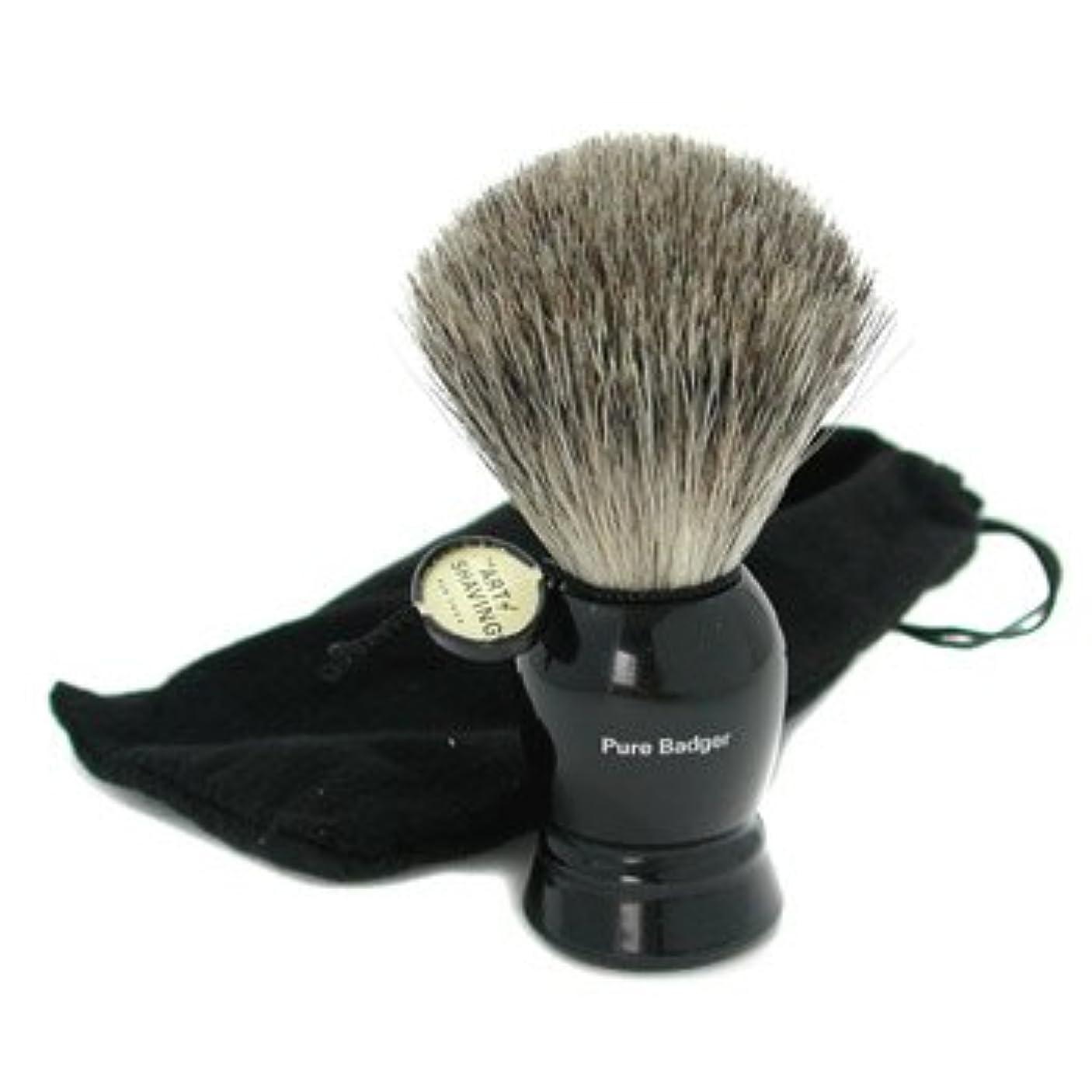 しかしアルバニーピストン[The Art Of Shaving] Pure Badger Shaving Brush - Pure Black