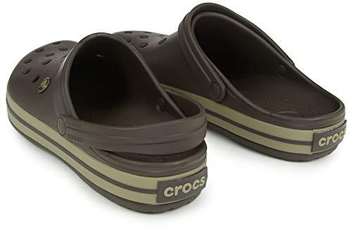 Crocs Unisex-Erwachsene Crocband Clogs, Braun - 4