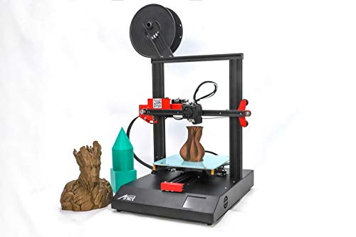 Anet 3D Printer, with High-Precision, Stable and Durable Aluminum Frame, Power-Off Recovery Printing Function, Automatic Input of Materials, Cost-Effective 3D Printer 220 220 250mm