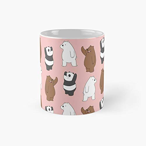 We Bare Bears Pattern Classic Mug