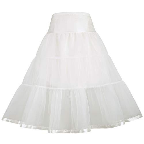 GRACE KARIN Ballet Dance Pleated Tutu Skirt Girls 12-13Y CL035-3
