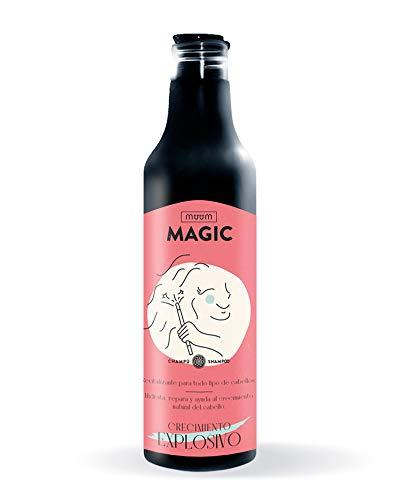 muum - Champú Magic Crecimiento Explosivo. Con Biotina, hidrata, suaviza repara y ayuda al crecimiento natural del cabello - 500 ml.