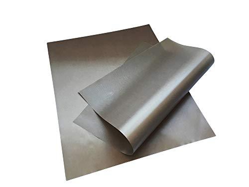 EAST-WEST Trading GmbH Lot de 2 feuilles de cuisson permanentes 40 x 50 cm – Réutilisables, antiadhésifs, permanents, passent au lave-vaisselle, découpables – Tapis de cuisson