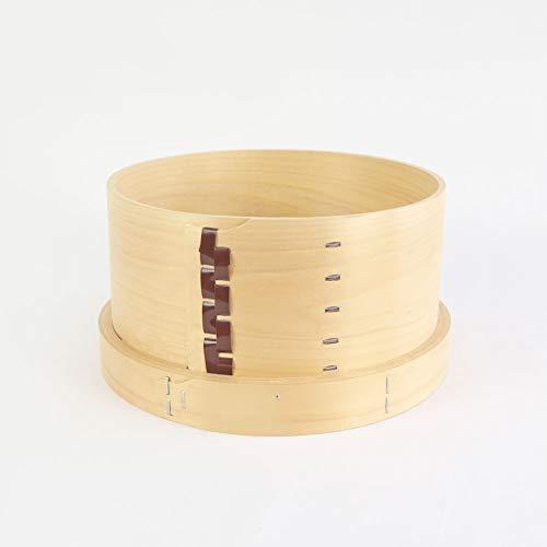 国産ひのき 木製 和せいろ 25cm 約1升用 蒸し器 セイロ 底は4ヶ所穴明きタイプ 1個