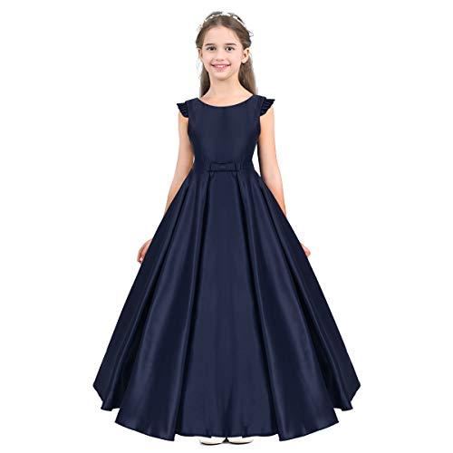 IEFIEL Vestido Elegante de Fiesta para Niña Vestido Cñoctel Largo de Ceremonia...