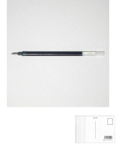 三菱鉛筆 ゲルボールペン替芯 シグノ 0.38 ブルーブラック UMR1.64 【× 4 本 】 + 画材屋ドットコム ポストカードA