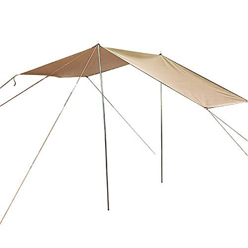 Drawers Coche Lateral toldo Acampada Lado protección Solar Tiendas Lateral Lateral al Aire Libre Todoterreno vehículo autocontrol Equipo Coche (Color : Dark Khaki)