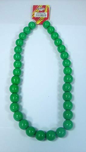 Collar de flamenca grande de 26 cm en color verde